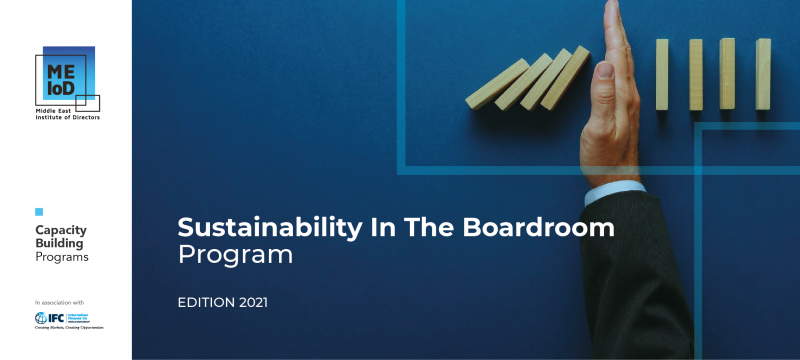 Sustainability in the Boardroom